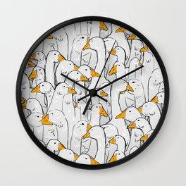 gaggle Wall Clock