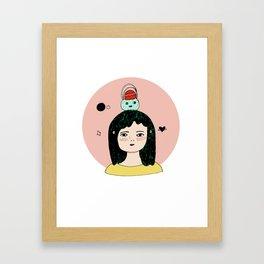 Thought. Framed Art Print