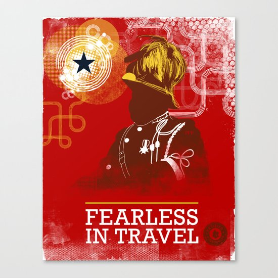 FEARLESS: In Travel Canvas Print