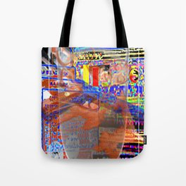 Glass Of Milk [A Simple Contstraint Series] Tote Bag