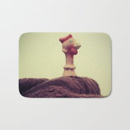 Chicken Invaders Bath Mat