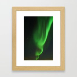The Pattern of Aurora Light Framed Art Print