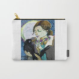 'Communication with the Raven' Carry-All Pouch