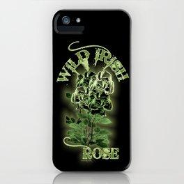 WILD IRISH ROSE 2.0 iPhone Case