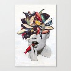 Ωmega-3 Canvas Print