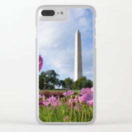 Shot on the Monument Clear iPhone Case
