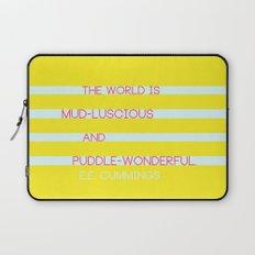 Puddle Wonderful Laptop Sleeve