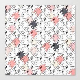 Infinite Cat Taps ∞ Canvas Print