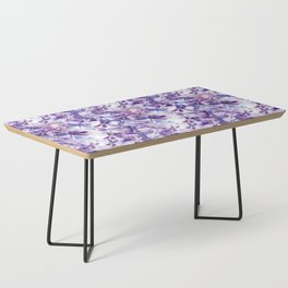 Dragonfly Lullaby in Pantone Ultraviolet Purple Coffee Table