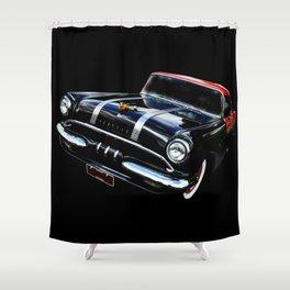 Purring Pontiac Shower Curtain