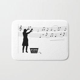 Making music Bath Mat