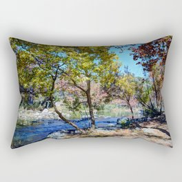 The Hill Country Rectangular Pillow