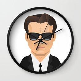 Mr. White - Harvey Keitel Wall Clock