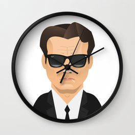 Mr. White - Harvey Keitel Wall Clock