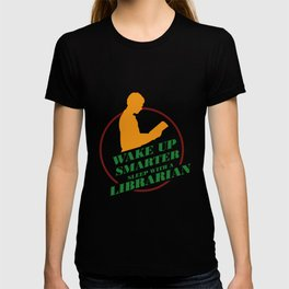 Sleep With A Librarian Librarian Book Reader Archivist Reading T-shirt
