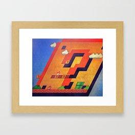 / - / Framed Art Print