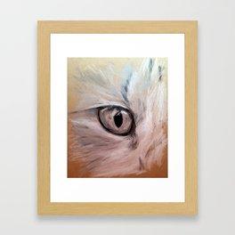 CatsEye Framed Art Print