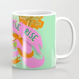 PEACE ON THE RISE Coffee Mug
