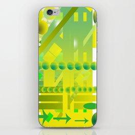 geometric forms iPhone Skin