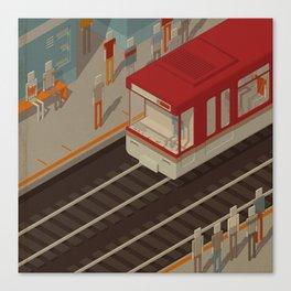 Habitat 24 Canvas Print