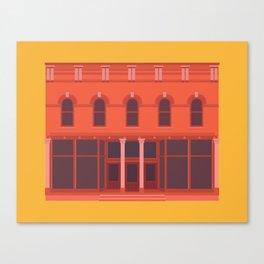 Jake's Pizza- Green Bay, WI Canvas Print