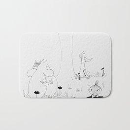 Moomin Love Bath Mat