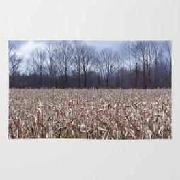 Field of Corn left Behind Rug