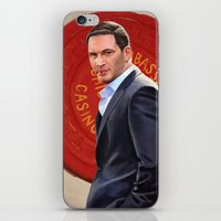 eames iPhone & iPod Skins featuring Inception - Mr Eames by Mel Hampson