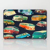volkswagon iPad Cases featuring Kombi Heaven by Buster Fidez