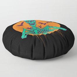 I Love Halloween Floor Pillow