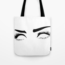 eyez on the prize Tote Bag