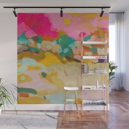 landscape light & color abstract Wall Mural