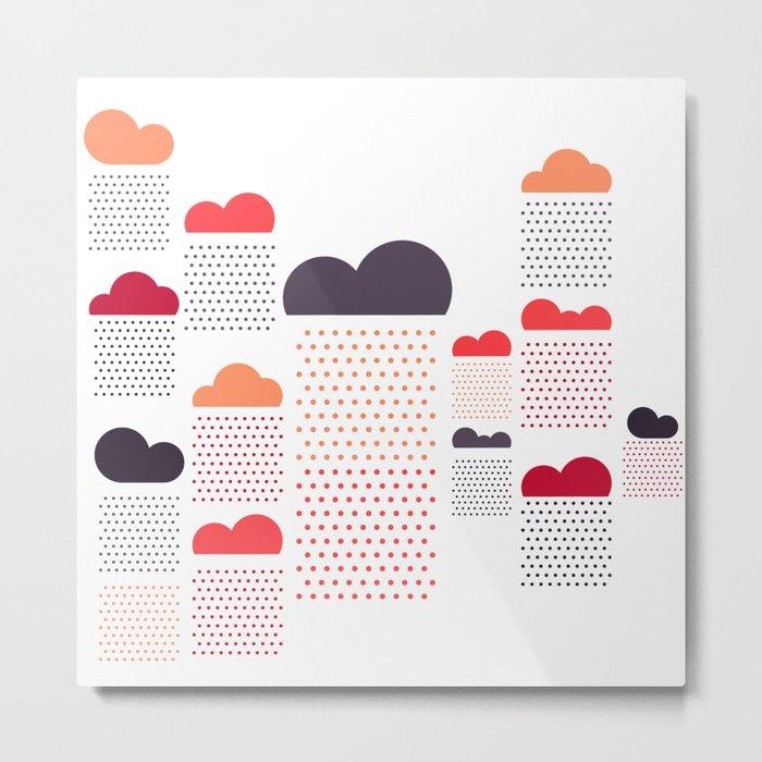 raining pleasure Metal Print