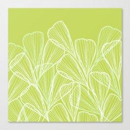 Minimal Modern Tropical Abstract Canvas Print