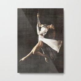 The Pole Dancer Metal Print