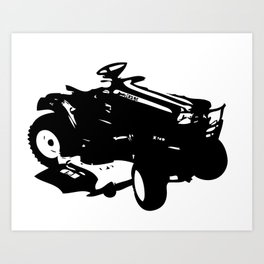 Tractoral  Art Print