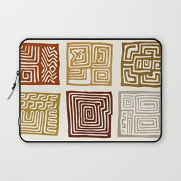 African Ceremonial Pattern Laptop Sleeve