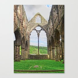 Tintern Eternal - Tintern Abbey, Wales, UK Canvas Print