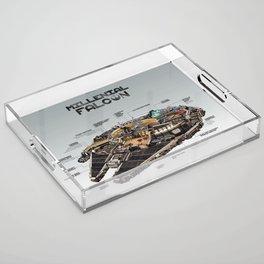 Millennial Falcon Acrylic Tray
