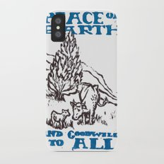 Peace on earth 2014 Slim Case iPhone X