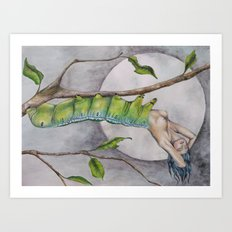 Fairy Nymph Art Print