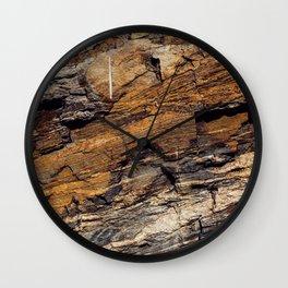 Rocky Mountain Texture Wall Clock