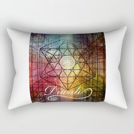Diwali Festival of Lights Zen Art Rectangular Pillow