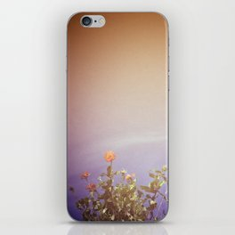 Water Flowers iPhone Skin