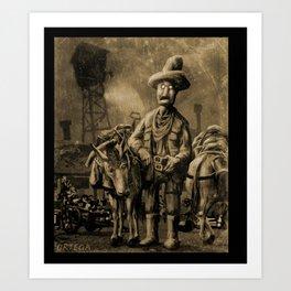 George Atherton. Tintype Art Print