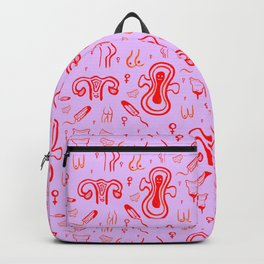 Period Pattern Backpack