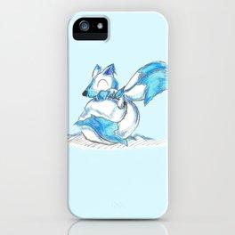 Ice Kitsune Kit iPhone Case