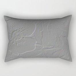 Embossed hellebore Rectangular Pillow