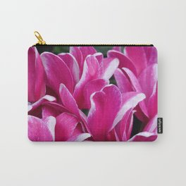 Cyclamen - Floral Carry-All Pouch