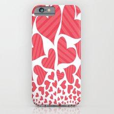 Bursting Hearts Slim Case iPhone 6s